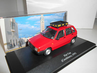 Fiat Uno Taxi Casablanca 1995 Collection Taxi Altaya Ixo 1:43
