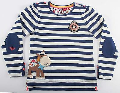 Bnwt;toggi Goldie;childs Long Sleeve Top;navy;size;7-8