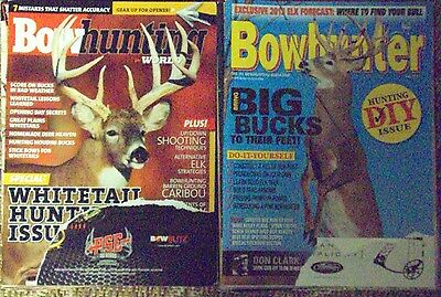 Mix Lot of 16 Bow Hunting Magazines, Lots of Deer, Take a L@@K