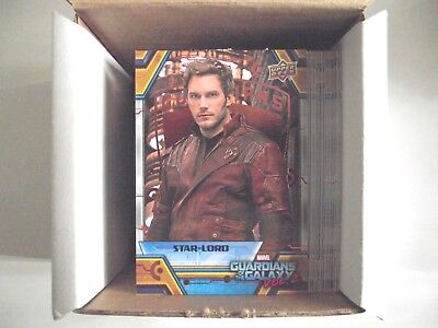 2017 Upper Deck Guardians of the Galaxy Vol 2 Bronze 89 Cards Complete Hobby Set