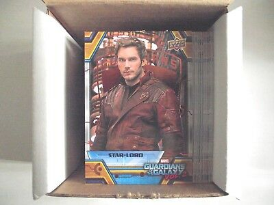 2017 Upper Deck Guardians of the Galaxy Vol 2 Bronze Parallel lot - Pick Any 10