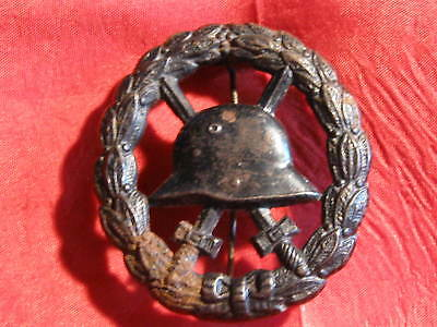 Orig. Old  German Wound Badge   WWI Cut out Version  RARE