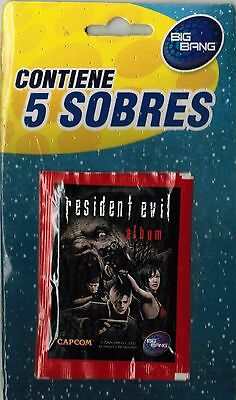 Chile Version 2016 Capcom Big Bang Resident Evil blister 5x sticker pack