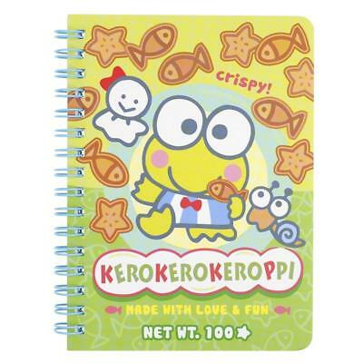 2017 Sanrio Keroppi Frog Small Wire-O Notebook (10.5 x 14.5 cm ) NEW Free P+P