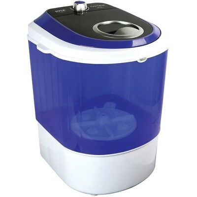 Pyle Compact & Portable Washing Machine with Mini Laundry Clothes Washer, White