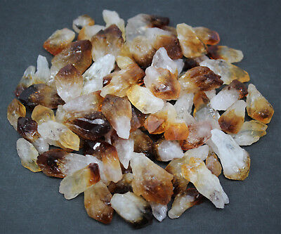 1000 Carat Bulk Lot Citrine Points, 65-85 pcs (Crystal Healing Reiki, 200 Gram)