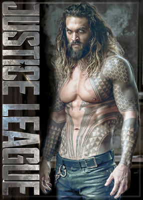 Justice League (Movie) Photo Quality Magnet: Aquaman