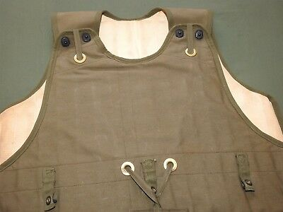 US Army AAF WW2 B-17 BOMBER M-1/M-2 FLAK VEST Vtg Flight Aviator Flying RARE