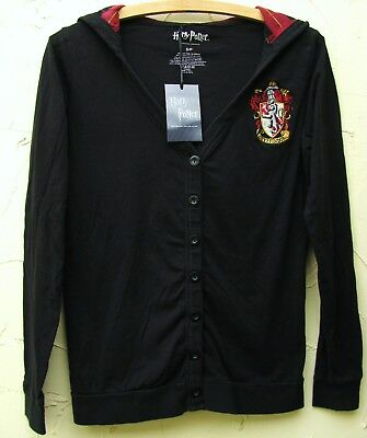 HARRY POTTER Gryffindor Cardigan Gr.S Strickjacke 38 36 Schwarz Hogwarts Cosplay
