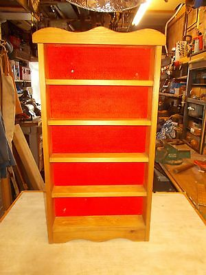 PINE DISPLAY CABINET FOR DIE CAST VEHICLES  Lot 155