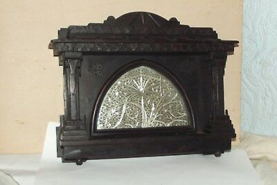RARE ANTIQUE  TRACERY WINDOW sidi saiyyed mosque at ahmedabad IN SILVER & OAK