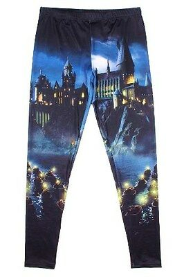 HARRY POTTER Hogwarts Leggings Hose Gr.M L 40 42 NEU Beasts Tierwesen 38 EMP