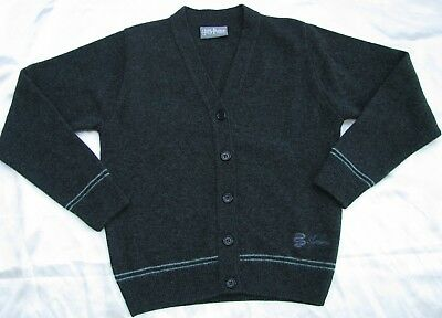 HARRY POTTER Slytherin Schuluniform Cardigan Gr.M Lochaven Wolle Strickjacke