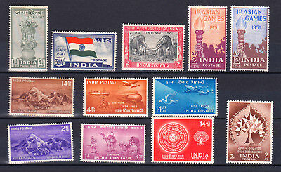 INDIA 1947 1956  mint MH MLH * SG CV 62£ 83$ INDE