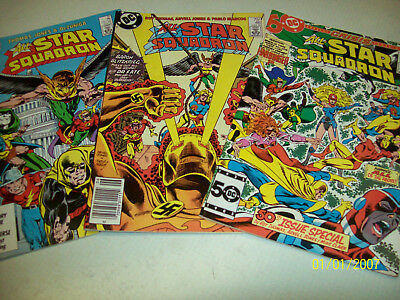 lot of 3 .... older....All-Star Squadron Comic Books