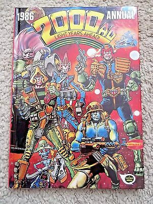 2000 Ad Uk Annual From 1986 Uk Fleetway Annual Excellent Condition