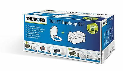 Thetford Replacement Toilet C250/260 Cassette Seat Fresh Up 4259262
