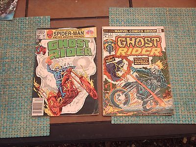 Two Ghost Rider Comic Books -  #5 And #63