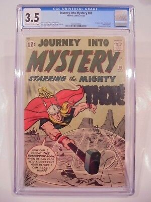 Journey Into Mystery Thor #86 CGC 3.5 OW White Pages