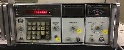 Hewlett Packard HP 8660C Synthesized Signal Generator w/ 86601A & 86631B & Opt's