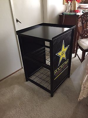 Rockstar Energy Drink GCG-6c Countertop RACK Stand for Cooler Redbull Monster