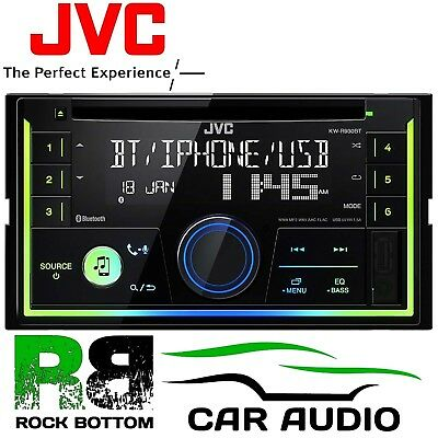 JVC KW-R930BT BLUETOOTH Double Din CD MP3 Radio USB Android iPhone Car Stereo