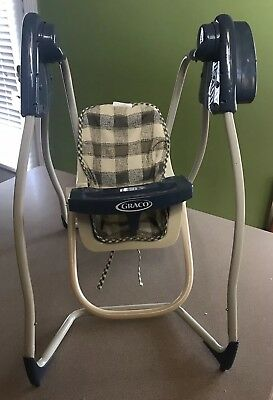 Graco Baby Doll Swing Plays Music Works Tollytots SW130