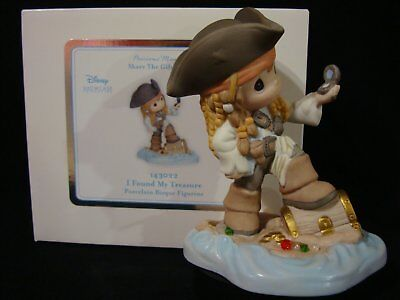 t Precious Moments-Disney Pirate Of The Caribbean-Jack Sparrow-Found My Treasure