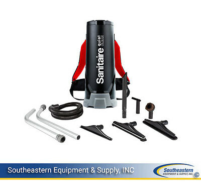New Sanitaire SC530A QuietClean 10Q Backpack Vacuum