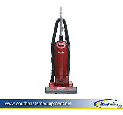 """New Sanitaire SC5815D QuietClean 15"""" Bagged Upright Vacuum"""