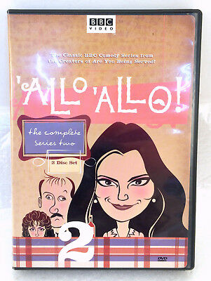 Allo Allo - The Complete Series Two (DVD, 2005, 2-Disc Set)