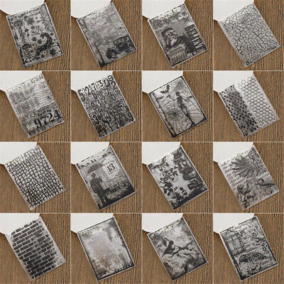 Album DIY Craft Cute Silicone Rubber Transparent Stamps Clear Sheet Scrapbooking
