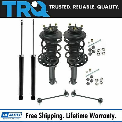 8 Piece Suspension Kit Strut Assemblies Shock Absorbers Sway Bar End Links New
