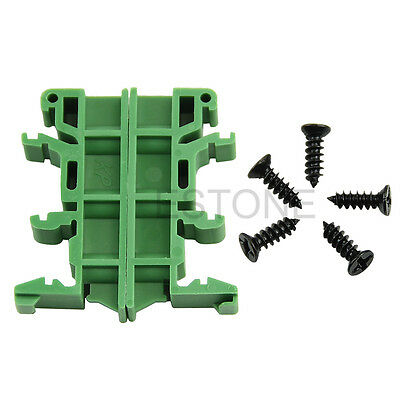 PCB Circuit Board Mounting Bracket For Mounting DIN Rail Mounting Simple