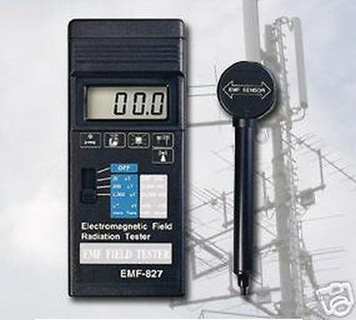 Electrical Smog/magnetic Field Measuring Emf Meter Es1