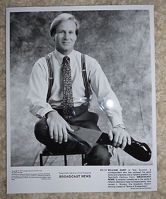 Broadcast News - William Hurt - Original Press Still