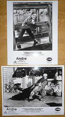 ANDRE - Original Black and White Film Stills