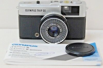 Vintage Olympus Trip 35 Camera -1983 No Tested but great condition For collector