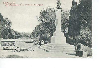 B/w  Postcard Monument To Wellington(198) Victoria Stamp 1891
