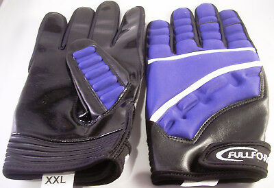 Full Force Football Handschuhe, Player, Gr.S, navy, LB, RB, CB