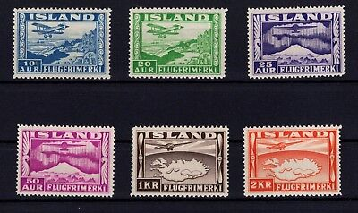 P35270 / Island / Iceland / Air Mail Stamps / Lot 1934 Neufs ** / Mnh 110 €