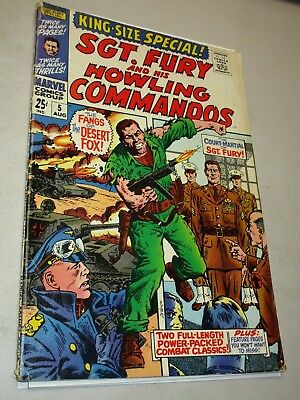 Sgt. Fury and his Howling Commandos King-Size Special #5 (1969 Marvel)