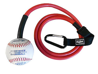 Champion Sports Small Resistance Arm Training Tubing Rubber Band with Baseball