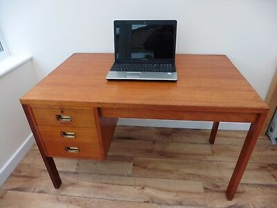 Gordon Russell of Broadway superb quality English made vintage 1960's desk in GC