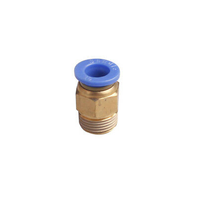1Pcs 6mm Male Thread 4mm Push In Joint Pneumatic Connector Quick Fittings