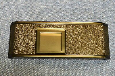 c.1971-72 EARLY MINT Pebbles Pattern Leatherette Nikon F2 BACK Chrome or BLK VTG