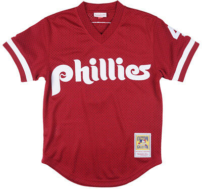 0826bfe2a ... low cost mitchell and ness lenny dykstra philadelphia phillies batting  practice jersey 7ca1d ee518