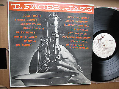 Count Basie, Lester Young, Joe Turner...-- The Faces of Jazz