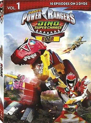 POWER RANGERS DINO SUPER CHARGE ROAR VOL 1 New DVD