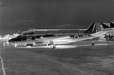 English Electric Canberra T.4 A84-502 original 35mm photo negatives